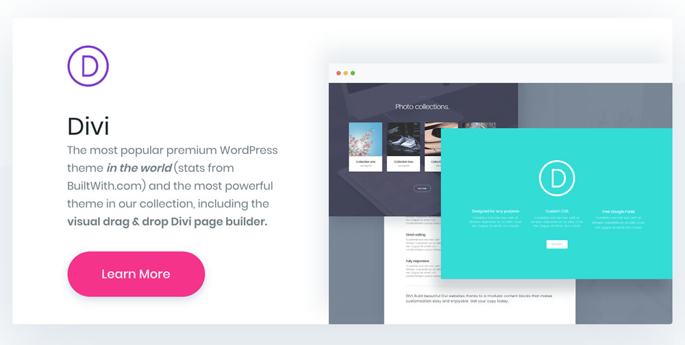 Start your business with a premium theme - Divi is a good choice | 40plusstyle.com