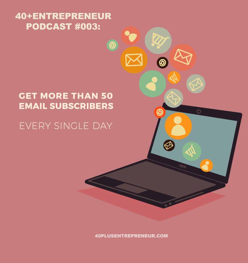 Get more than 50 new subscribers every single day - Your 9 step plan | sylviavandelogt.com