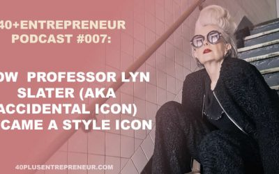 How professor Lyn Slater turned into a style icon and became world famous!