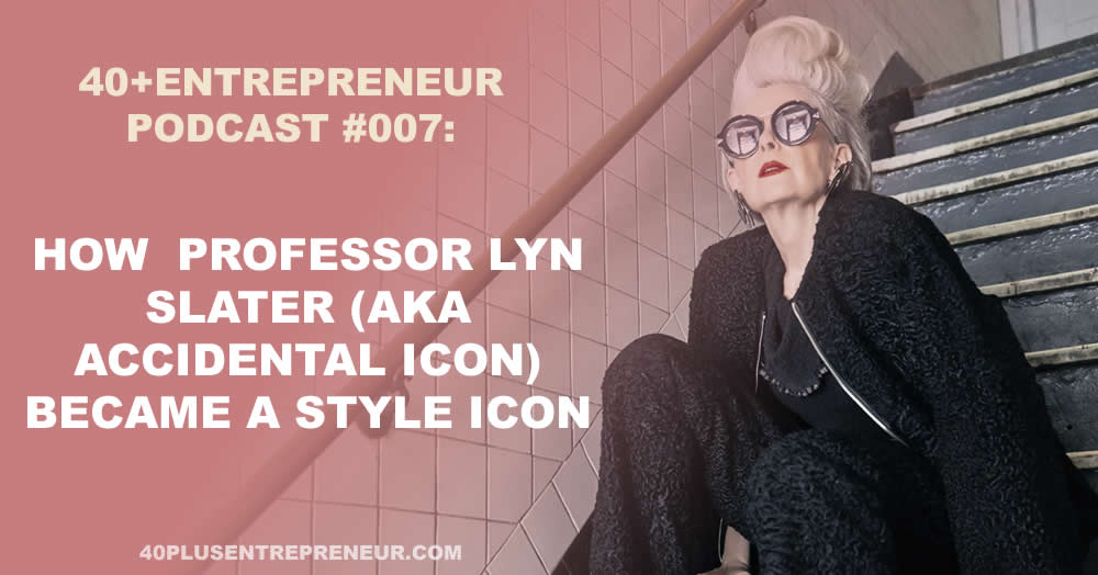 How professor Lyn Slater turned into a style icon and became world famous | sylviavandelogt.com