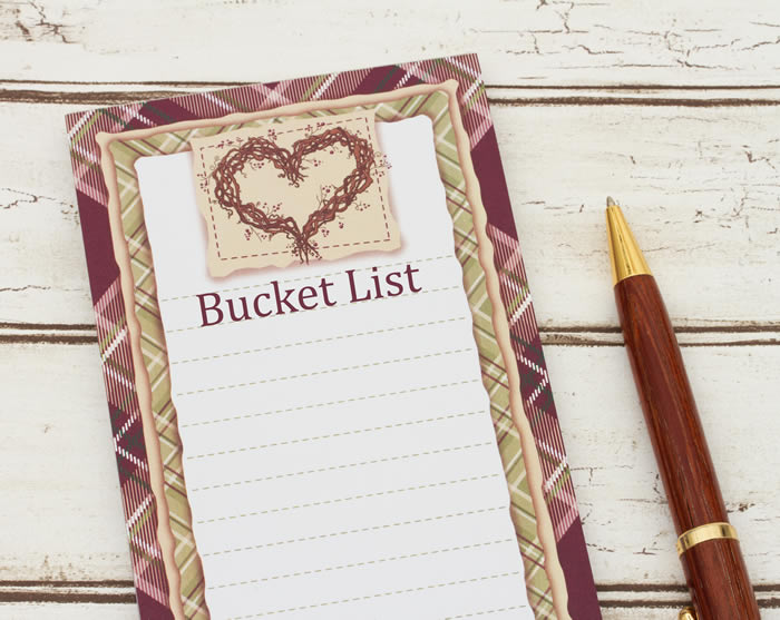 Bucket List Challenge