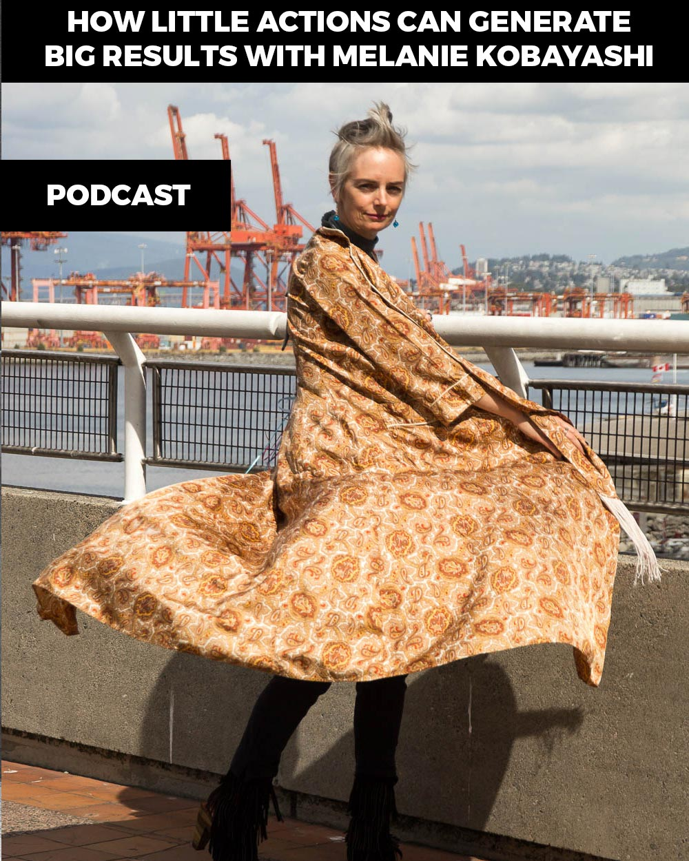 Melanie Kobayashi, style icon, comedian, artist - Listen to this inspirational woman in the True Potential Podcast